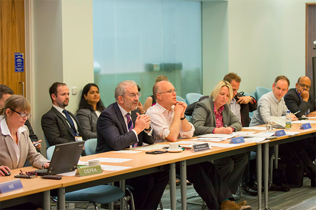 Sir Bob at the monthly Technology Leaders Network meeting