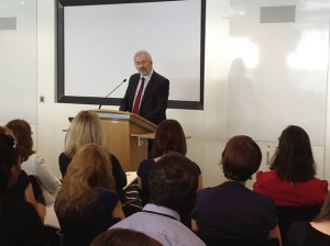 Speaking at the first cross-Civil Service job-sharing event at DCLG in June